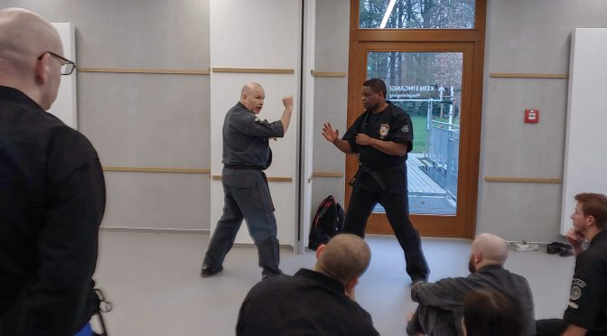 Katsudo Kenpo op het International Friendship Kenpo Camp