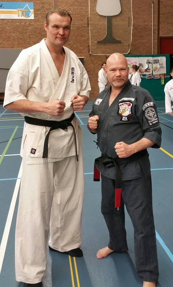 4 voudig wereldkampioen K1 Semmy Schilt gaf ook een seminar